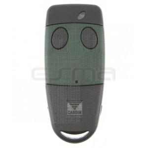 Télécommande CARDIN S449 QZ2 vert 433,92 MHz - Programmation avec le récepteur