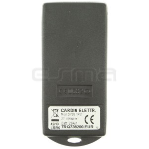 Télécommande CARDIN TRQ738200 27.195 MHz