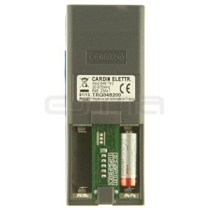 Télécommande CARDIN S48-TX2 TRQ048200 rose