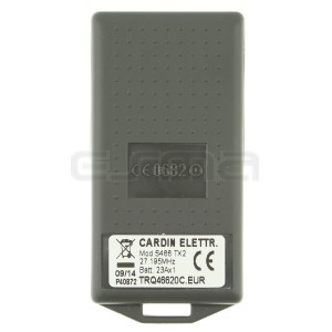 Télécommande CARDIN TRQ466200C