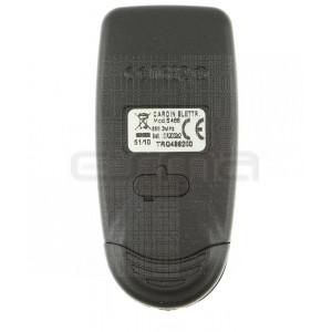 Télécommande CARDIN S486-QZ2 rouge TRQ486200