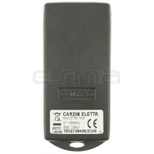 Télécommande CARDIN TRQ738400 27.195 MHz