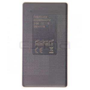 DICKERT FHS20-03 Télécommande