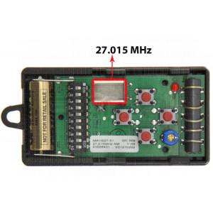 DICKERT Télécommande MAHS27-04 27.015MHz