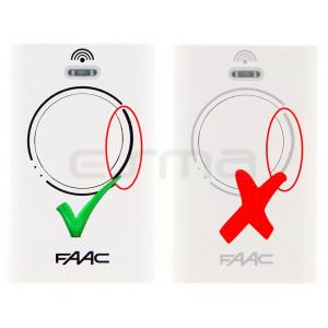 Télécommande FAAC XT4 868 MHz