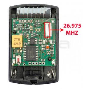 Télécommande de Garage HÖRMANN HSM4 26.975 MHz