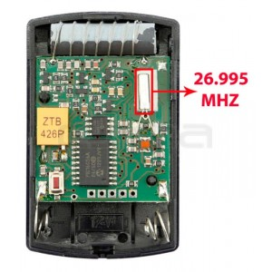 Télécommande de Garage HÖRMANN HSM4 26.995 MHz