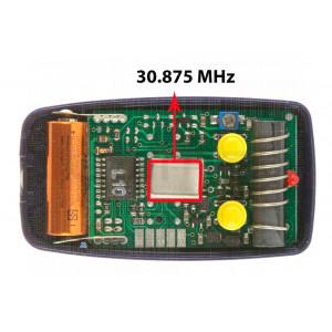Télécommande portail NICE BT2K 30.875 MHz