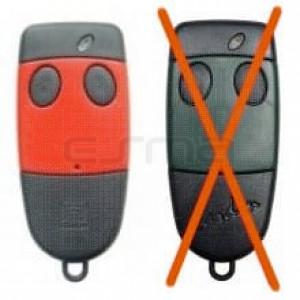Télécommande CARDIN S486-QZ2 rouge 868,35MHz