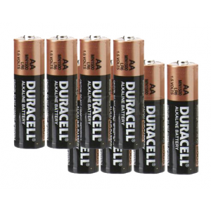 Pack 8 Piles Duracell AA