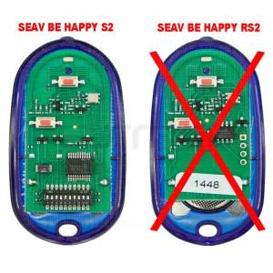 Télécommande de portail SEAV Be Happy S2