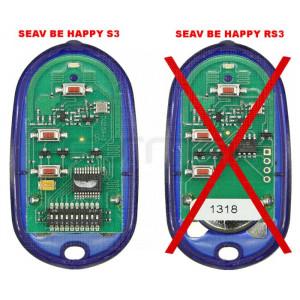 Télécommande de portail SEAV Be Happy S3