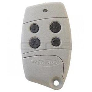 Télécommande de Garage SOMFY 433-NLT4 beige