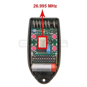 Télécommande TELCOMA FOX4-26.995 MHz