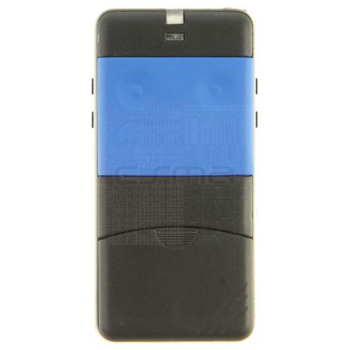 Télécommande CARDIN S435-TX2 bleu 433,92 MHz - Programmation avec le récepteur