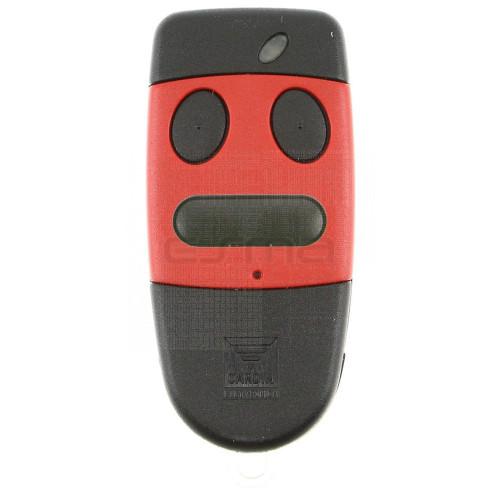 Télécommande CARDIN S486-QZ3 rouge 868,35 MHz  - Programmation avec le récepteur