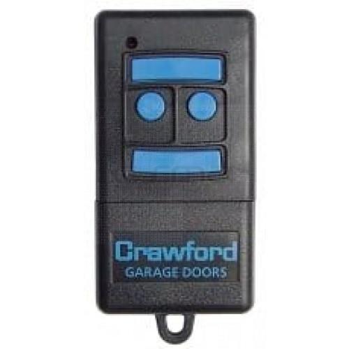 Télécommande CRAWFORD T433-4 - Programmation avec le récepteur