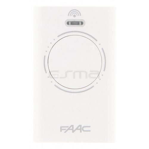 Télécommande FAAC XT4 433 SLH LR - auto-apprentissage