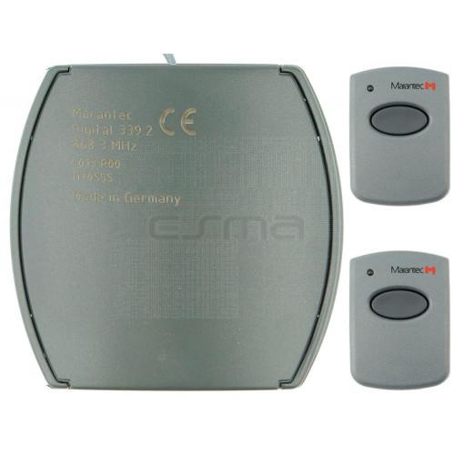 Kit Récepteur + Télécommandes MARANTEC D321-433