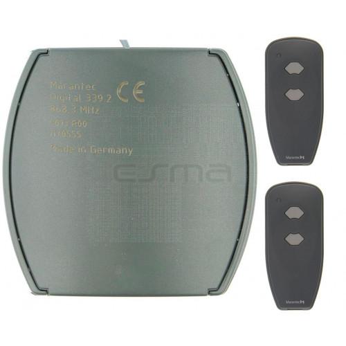 Kit Récepteur MARANTEC Digital 343 + Digital 382 433 MHz