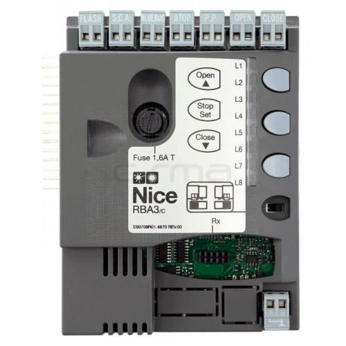 Centrale électronique NICE RBA3/c