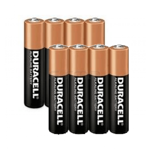 Pack 8 Pila Duracell AAA