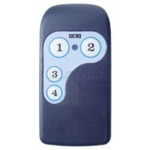 Télécommande TREBI ASB4 - programmation avec le récepteur