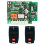 KIT Récepteur + Télécommandes BFT CLONIX 2