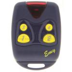 Télécommande PROGET EMY 4F 433 MHz - Programmation avec le récepteur