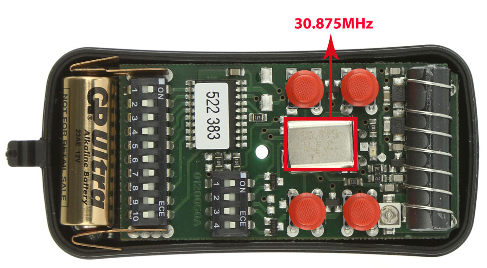 Télécommande Allmatic AKMY4