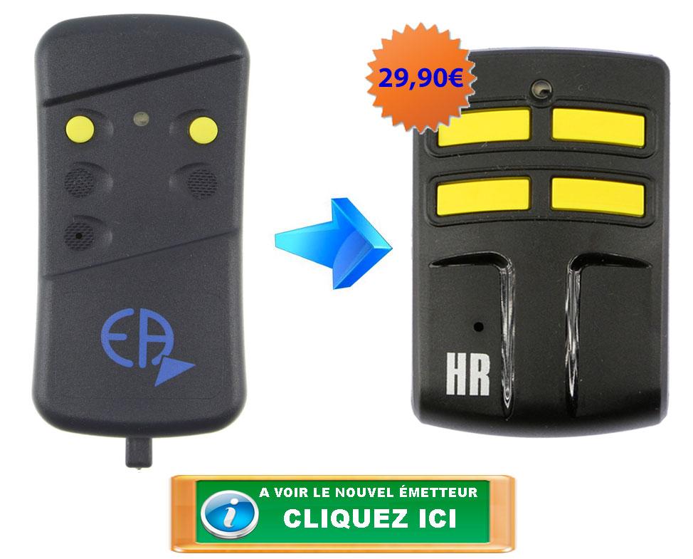 Télécommande Allmatic AKMY2 jaune