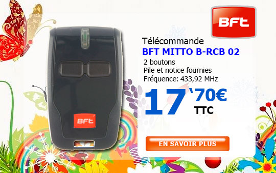 Télécommande BFT MITTO B RCB 02