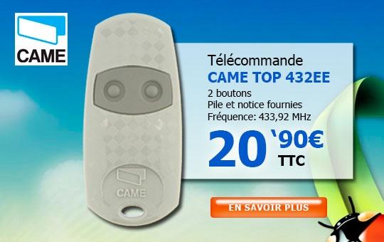 Télécommande CAME TOP 432EE