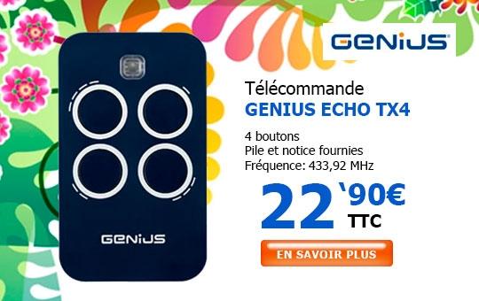 Télécommande GENIUS ECHO TX4
