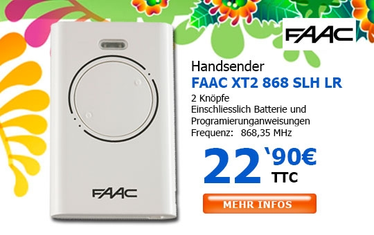 Handsender FAAC XT2 868 SLH