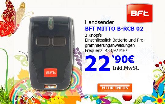 Handsender BFT MITTO B-RCB 02