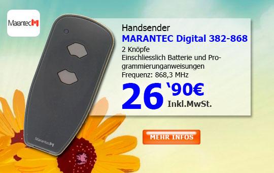 Handsender Marantec D382-868