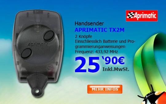 Handsender APRIMATIC TX2M