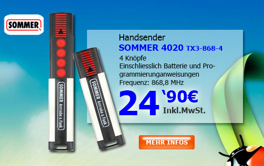 Handsender SOMMER 4020TX03
