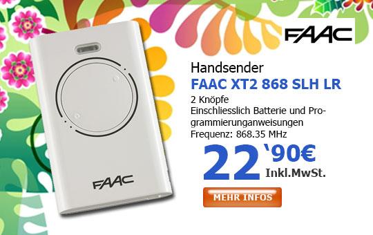 Handsender FAAC 868 SLH