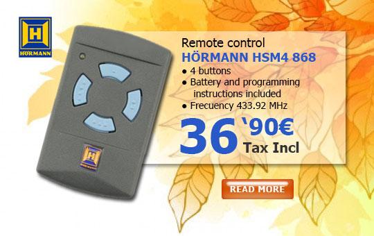 Hörmann HSM4 868MHz Remote control