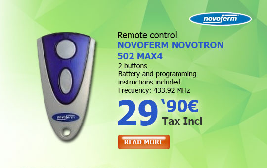 Novoferm Novotron 502 MAX4