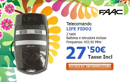 Telecomando LIFE FIDO 2
