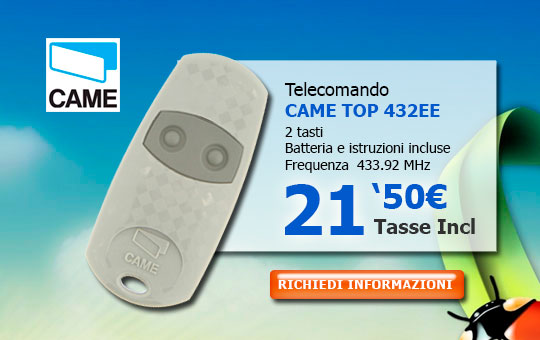 Telecomando CAME TOP 432EE