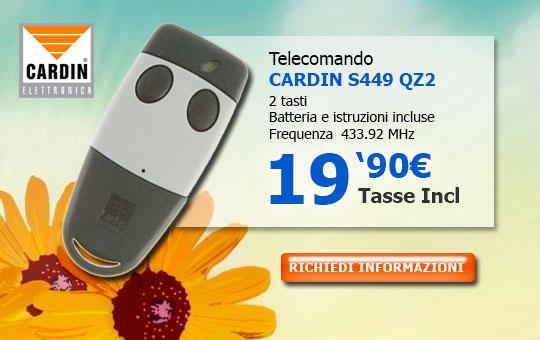 Telecomando Cardin S449QZ2