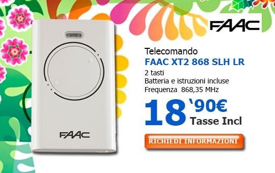 Telecomando FAAC XT2 868 SLH