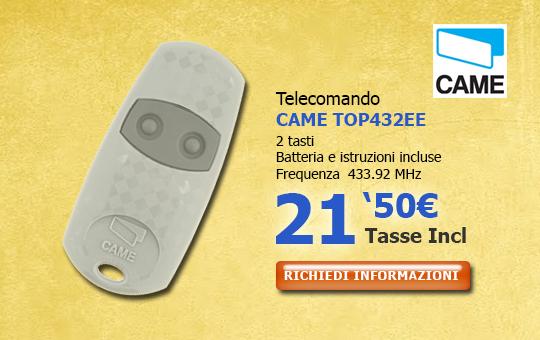 Telecomando CAME 432EE