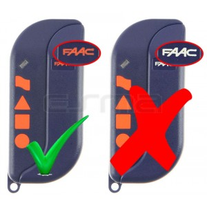 FAAC TML4-433-SLR logo Orange
