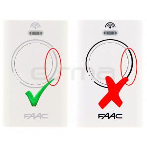 Télécommande FAAC XT2 433 MHz