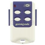 Télécommande CELINSA MOVECODE 4 433,92 MHz - Programmation avec le récepteur